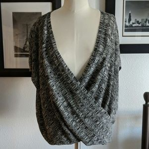 Eileen Fisher Crossover Sweater Small Petite